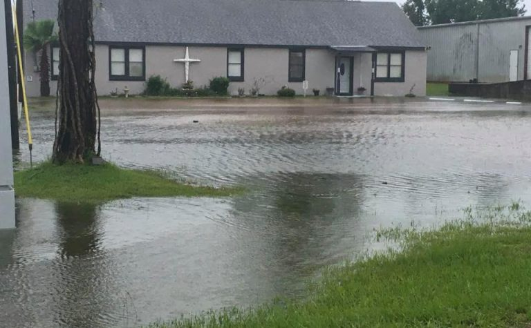 Flooding in Turkey Creek | Photo courtesy of EEECHO